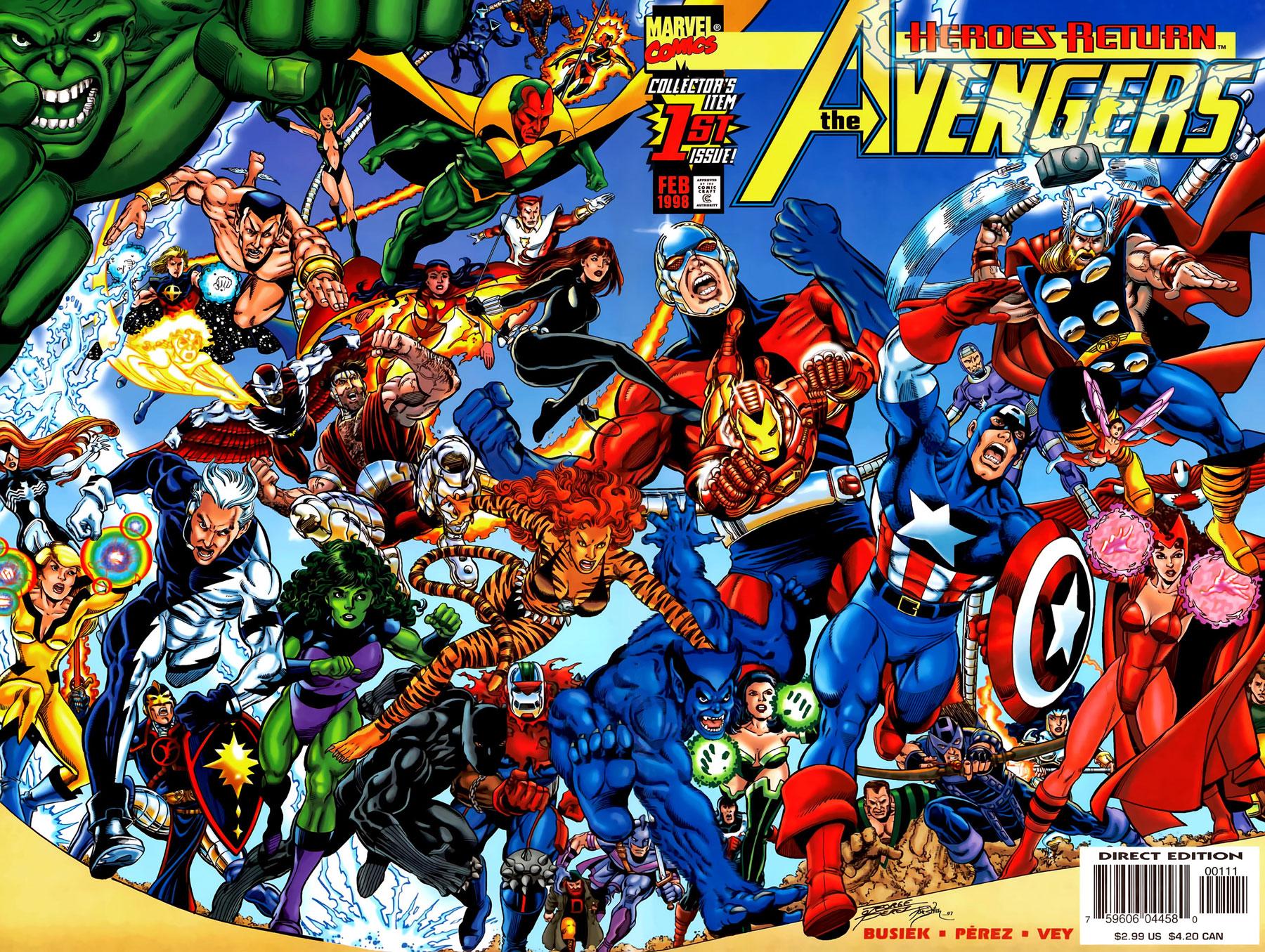 Bully says comics oughta be fun - Heros avengers ...