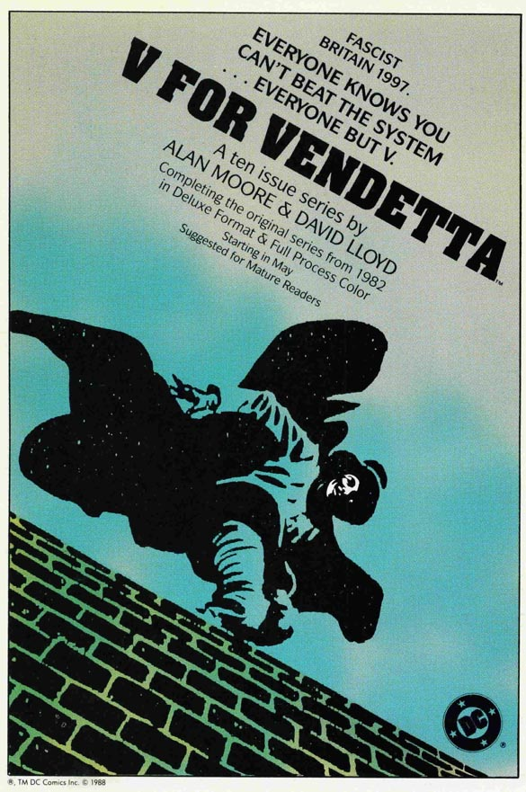 comparative essay on 1984 and v for vendetta