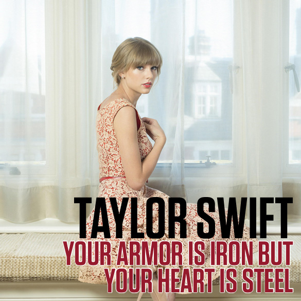 Your Armor Is Iron But Your Heart Is Steel