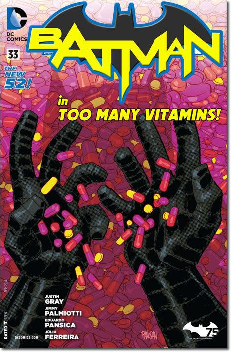 Batman in Too Many Vitamins