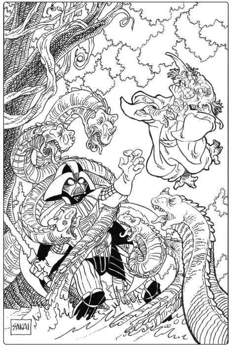 star wars comic book coloring pages   Bully Says: Comics Oughta Be Fun!