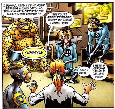 Marvel Apes #1