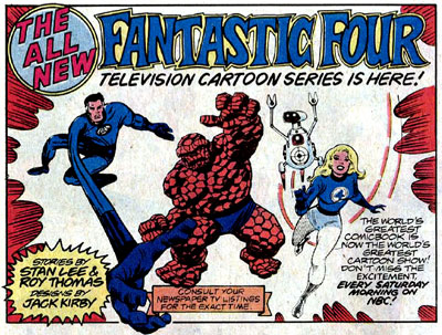 Fantastic Four TV Show ad.