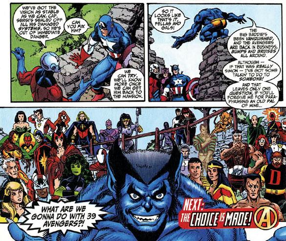 Avengers v.3 #3