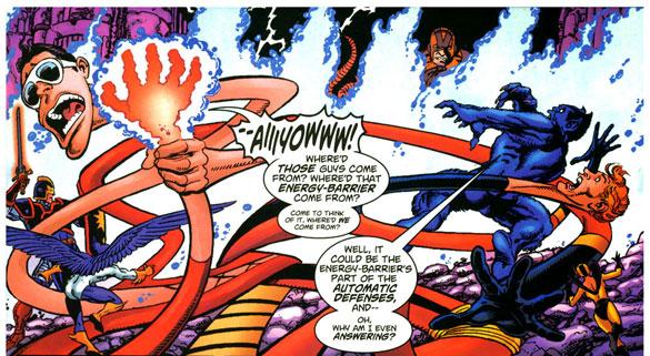 Avengers / JLA #4