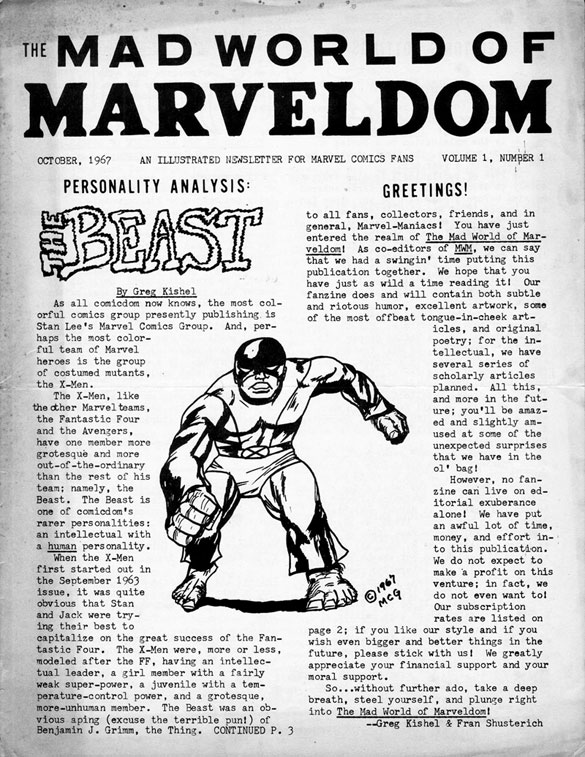 Mad World of Marveldom #1