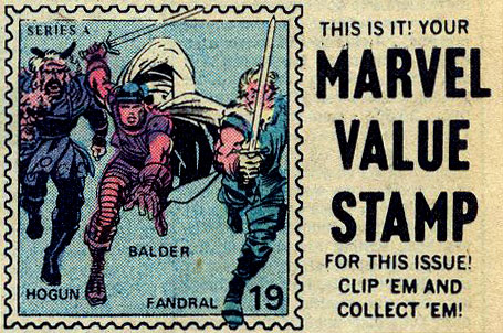 Marvel Value Stamp #19