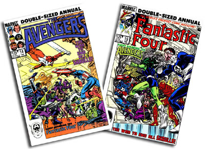 Avengers Annual #14 and Fantastic Four Annual #19