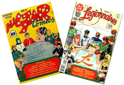 All Star #3 & Legionnaires #54