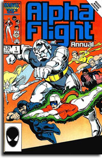 Alpha Flight Annual #1