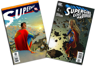 All Star Superman #1 and Supergirl #9