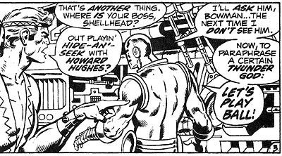 Avengers #101 panel