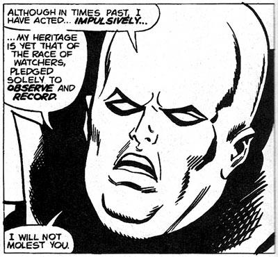 Avengers #118 panel