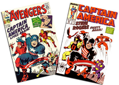 Avengers #4 and Captain American #337