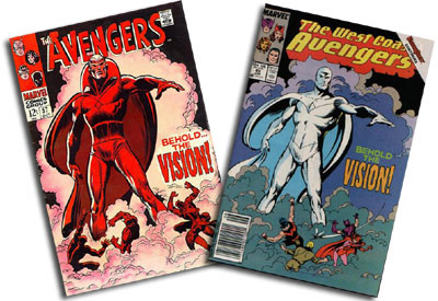 Avengers #57 and West Coast Avengers #45