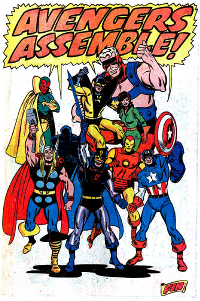 Avengers Next Issue