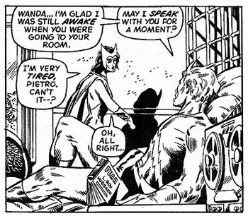 Avengers #99 panel