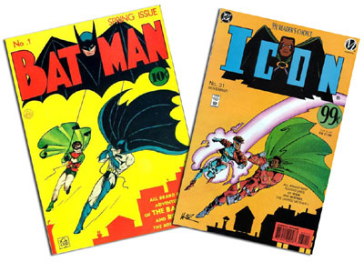 Batman #1 and Icon #31