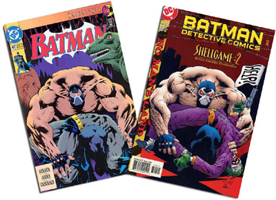 Batman #497 and Detective Comics #740