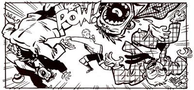 Biff-Bam-Pow! #1 panel
