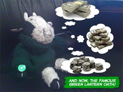 Green Lantern Bully
