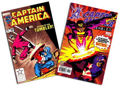 Captain America #291 and #30