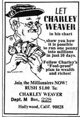 Charley Weaver