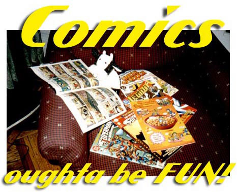 Comics Oughta Be Fun!