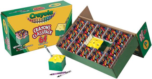 832 crayons