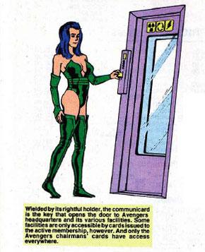 Avengers Communicard