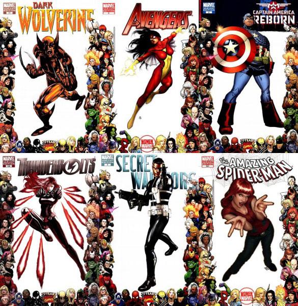 Marvel 2010 frame