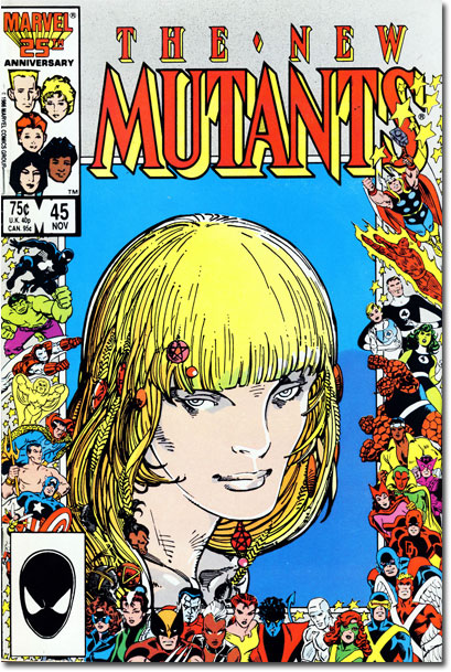 New Mutants #45