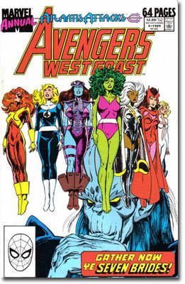 West Coast Avengers Annual #4