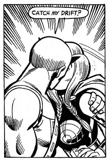 Defenders #9 panel
