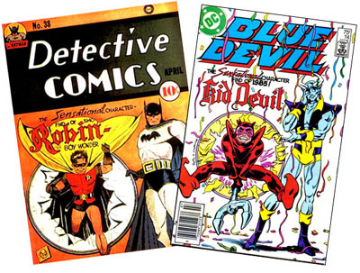 Detective #38 & Blue Devil #14