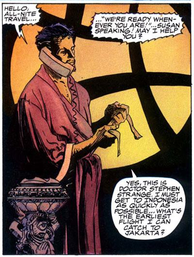 Dr. Strange/Dr. Doom
