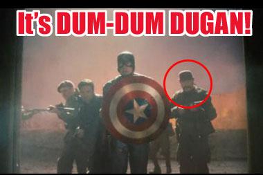 Captain America: The First Avenger / Dum-Dum Dugan