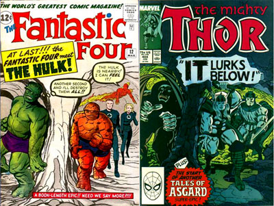 FF #12 & Thor #404
