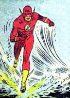 Flash! Da da! Savior of the universe!