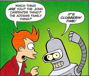 Futurama #33 panel
