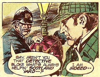 Sherlock Holmes comic