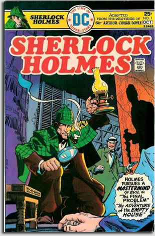 Sherlock Holmes comic cover
