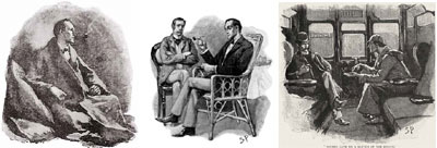 Sherlock Holmes by Sidney Paget