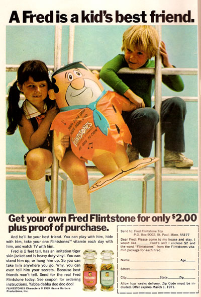 Inflatable Fred