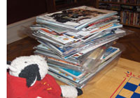 Stack o' Comics