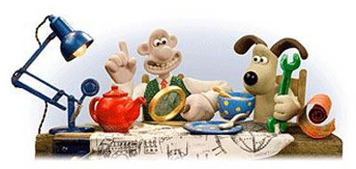 Google Wallace and Gromit