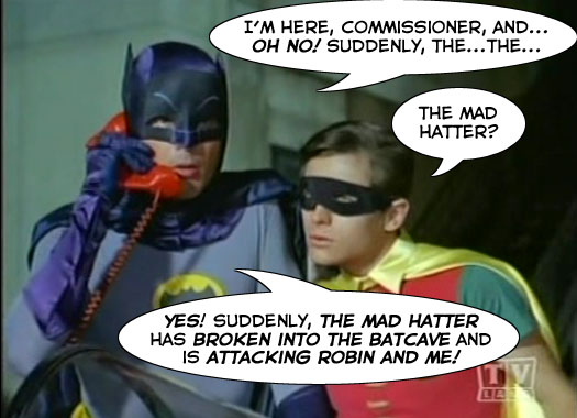 Commissioner Gordon is a Jerk!