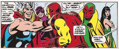 Giant Size Avengers #3 panel