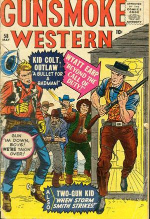 Gunsmoke Western #58