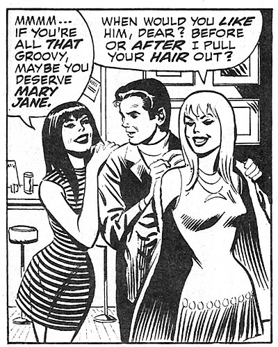 John Romita's Gwen Stacy